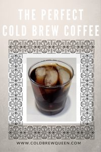 how to make best cold brew coffee