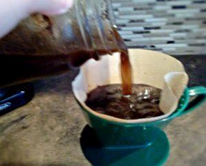 Cold Brew Mason Jar   Strain and Enjoy