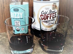 Tasting Cold Brew Concentrates-Bizzy Vs. Trader Joes Original