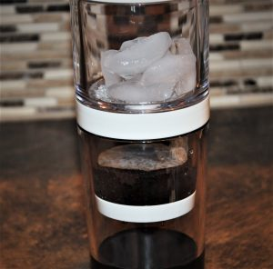 the dripo cold drip coffee maker set up