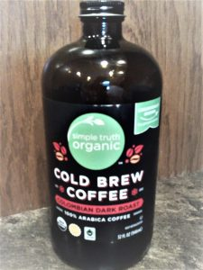 simple truth colombian dark roast cold brew