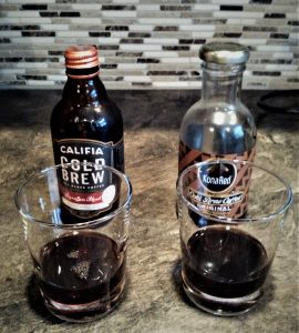 Tasting comparison of Kona Red Original and Califia Farms Signature Blend Cold Brew Coffee