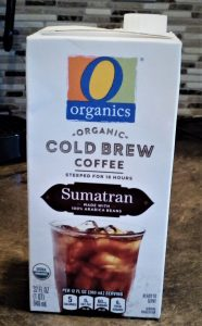 O Organics Sumatran Cold Brew Coffee