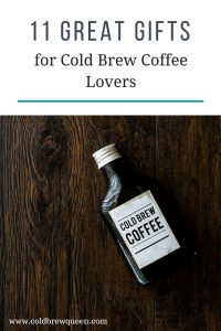 Cold Brew Coffee Lovers Gift Guide